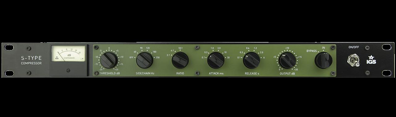 S-Type Mix Bus Compressor - IGS Audio